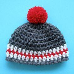 Sock Monkey Knit or Crochet Hat by hoffeeandanuffin on Etsy, $7.00