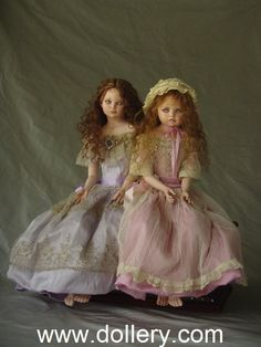 Fairy and Minnow Tom Francirek Collectible Dolls