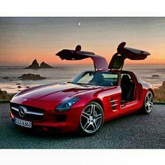 Mercedes y sus alas de gaviota , que maravilla!!!!!!!