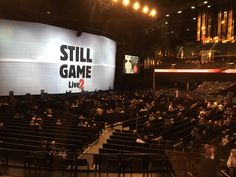 Fosters Actavtion - Still Game & Mickey Flanagan at Hydro Still Game, Be Still, Micky Flanagan, The Fosters, Activities, Games, Gaming, Plays, Game
