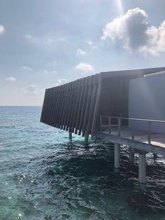 Blog Post: Park Hyatt Maldives Hadahaa   Over Water Villa PetiteJilly.com Water Villa, Snorkelling, Visual Diary, Maldives, Beautiful Homes, Skyscraper, Multi Story Building, Boat, Island