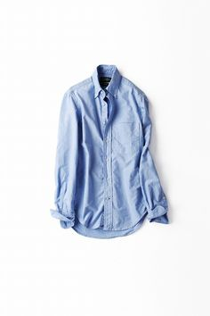 Kyoko Kikuchi's Closet   サックスブルーのボーイフレンドシャツ