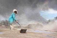 Indonesian Volcanic Eruption High Quality Shot 04