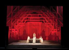 Set designs by John Macfarlane for David McVicar's staging of Maria Stuarda at the Metropolitan Opera  Metropolitan Opera Technical Department