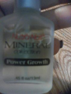 I notice I didnt have much for nail care so picked up NutraNail Mineral collection PowerGrowth