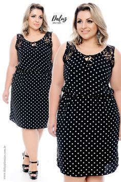 Vestido Plus Size - Coleção Alto Verão 2018 - www. Plus Size Gowns, Evening Dresses Plus Size, Curvy Fashion, Plus Size Fashion, Fashion Models, Curvy Outfits, Plus Size Outfits, Casual Dresses, Fashion Dresses