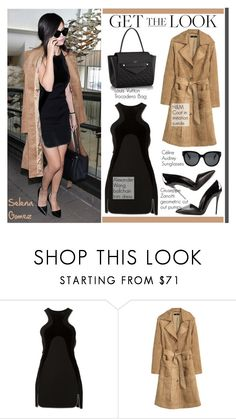 """Get the look: Selena Gomez"" by helenevlacho ❤ liked on Polyvore featuring H&M, Alexander Wang, Giuseppe Zanotti, Louis Vuitton, GetTheLook, StreetStyle, selenagomez, CelebrityStyle and StreetChic"