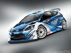 Voici la nouvelle déco pour la Ford Fiesta WRC de Abdulaziz Al-Kuwari