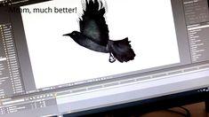 """Murky Woods"" 2D animation for music video #watercolours #Lidiainwonderland #before&after #murkywoods #musical #patreon #musicvideo #aftereffect #chroma #lidiaguglieri #music #makingof #originalmusic"