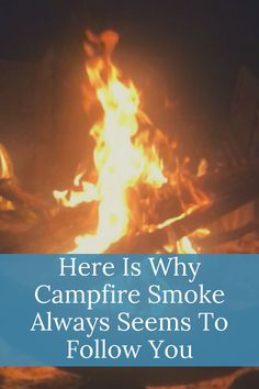 We all love campfires but many people don't like campfire smoke. Yet it can appear that the smoke always follow you when you move. Learn why this happens. Diy Camping, Tent Camping, Camping Hacks, Camping Gear, Wind Speed And Direction, Camping Products, Campfires, Camping Supplies, Follow You
