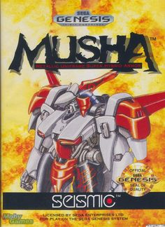 MUSHA for the Sega Genesis. This classic game has been cleaned, tested, and is backed by our 90 day no questions asked returns policy! Rage Video Game, Video Game Art, Mega Drive Games, Sega Mega Drive, Dragon Quest, Final Fantasy, Bunny Girls, Playstation, Ghost Videos