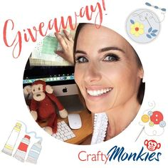 "CraftyMonkies on Instagram: ""🥳🎉GIVEAWAY!🎉🥳 We're celebrating summer here at CraftyMonkies with a ✂️🖌crafty giveaway! 🎉. One lucky winner from ANYWHERE in the world will…"" Textile Design, Giveaway, My Design, Crafty, My Favorite Things, Celebrities, Summer, Instagram, Celebs"