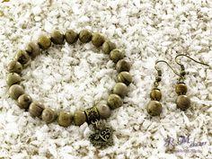 Tájképkő karkötő és fülbevaló R.M.ékszer szett Beaded Bracelets, Jewelry, Photos, Accessories, Jewlery, Pictures, Jewerly, Pearl Bracelets, Schmuck