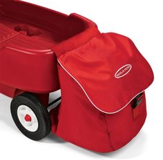 $27.00 Radio Flyer XL Wagon Storage Bag. Expandable storage bag accessory fits all Radio Flyer plastic wagons. No tools required for assembly and collapses for easy storage. Holds everything you need to take on a sunny outing Product Measures 14x15x15 Recommended Ages: 1-12 years