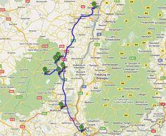 Ruta en coche por la Alsacia francesa