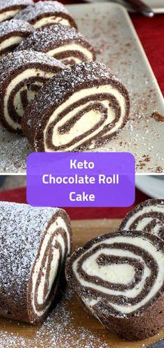 18 Easy Delicious Keto Cake Recipes to Try - Joki's Kitchen Low Carb Chocolate Cake, No Bake Chocolate Cheesecake, Chocolate Fudge Cake, Keto Cheesecake, Poke Cakes, Keto Cake, Lemon Desserts, Low Carb Desserts, Keto Birthday Cake