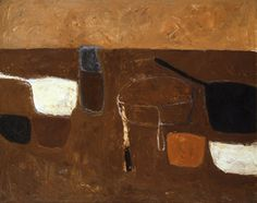 Brown Still Life, 1957, Oil on canvas, 102 x 127cm British Council Arts Collection