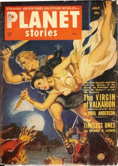 "Dedicated to all things ""geek retro:"" the science fiction/fantasy/horror fandom of the past including pin up art, novel covers, pulp magazines, and comics. Art Pulp Fiction, Science Fiction Books, Pulp Art, Marvel Comic Books, Comic Books Art, Book Art, Planet Comics, Strange Adventure, Pulp Magazine"