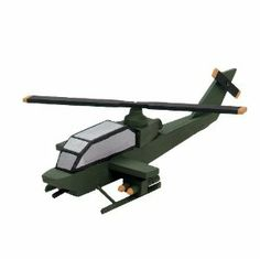 Darice 9178-95 Wooden Attack Helicopter Model Kit by Darice. $4.46. Wooden model kit attack helicopter. Measures 3-8/9-inch length by 1-2/5-inch width by 9-1/2-inch height. Choking hazard-small parts and not for children under 3 years. Great for school camp, scout activities and at home. Each kit contain precut wood easy to follow instructions for assembly and finishing all you need is the glue, sandpaper and paint (sold separately). This wooden model attack helicopter kit is gr...