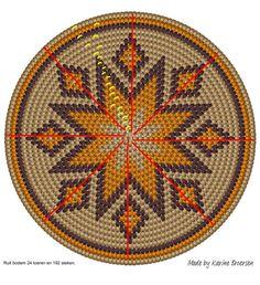 Tapestry Crochet Patterns, Crochet Dolls Free Patterns, Crochet Motifs, Crochet Stitches Patterns, Tiny Cross Stitch, Cross Stitch Designs, Cross Stitch Patterns, Native Beadwork, Native American Beadwork
