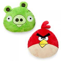Angry Birds - Set of 2 Plush Pillows
