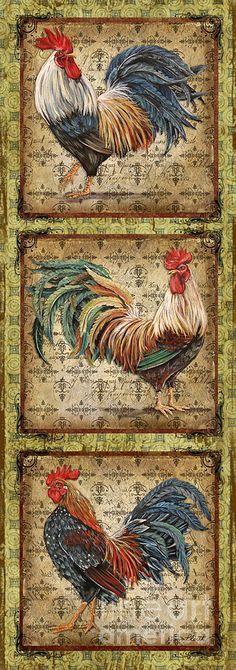 decoupage print rooster - Google'da Ara