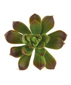 Burgundy Echeveria Faux Succulent