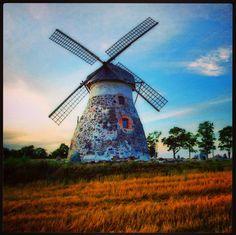 #instagram #eesti #wiatrak #ветряная_мельница #windmill #estonia