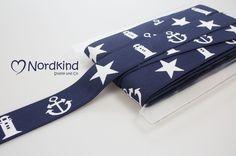 Gummiband+maritim+von+Nordkind+Stoffe+&+Co+auf+DaWanda.com