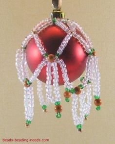 This is a great idea....but with prettier beads and better color matching.