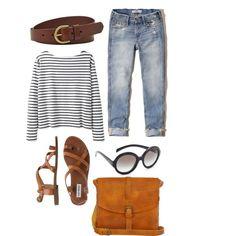 Casual look by elsass on Polyvore featuring Wood Wood, Steve Madden, Ilundi, FOSSIL, Prada and Hollister Co.