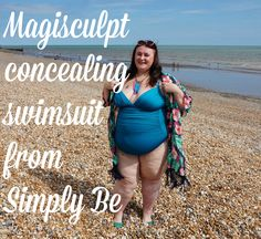 Magisculpt concealing swimsuit from Simply Be   Hiya pickles I have another swimwear post today! This time I'm wearing swimwear and some accessories from Simply Be. My obsession with blue and greens carries on and they're colours I don't often see mixed which is why I've mixed them. I'm wearing this Magisculpt concealing swimsuit in a size 30. I read reviews which said the swimsuit comes up really small so I sized up and I'm glad I did.  This clutch is dinky and so gorgeous  Let's start with…