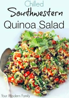 Chilled Southwest Quinoa Salad