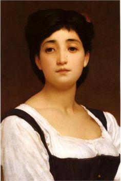 Frederic Leighton (British: 1830 - 1896) - Teresina (1870)