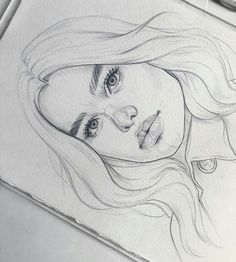 62 Ideas Fashion Drawing Face Pencil For 2019 Fashion Show - Zeichnung Girl Drawing Sketches, Cool Art Drawings, Pencil Art Drawings, Realistic Drawings, Drawing Faces, Cartoon Drawings, Girl Sketch, Drawing Art, Drawing Ideas