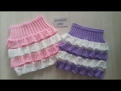 Knitting Wool, Knitting Charts, Easy Knitting, Baby Skirt, Baby Dress, Man 2, Baby Barn, Diy Crafts How To Make, Herringbone Stitch