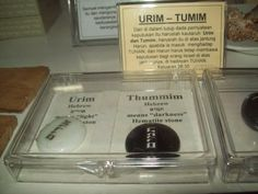 "Q. What are the Urim and the Thummim and what is their significance? What about the ephod? What do they look like? A. The term ""Urim and Thummim"" appears only 7 times in the Bible: 1. E…"