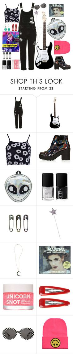 """Psychic"" by gb041112 ❤ liked on Polyvore featuring Topshop, Boohoo, NARS Cosmetics, Tim Holtz, Andrea Fohrman, Forever 21 and Yves Saint Laurent"