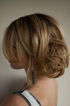 Day 30 of the Hair Romance challenge - Romantic messy chignon
