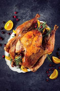 This easy Dry Brine Turkey Recipe is a great way to add additional flavor to your bird! My Dry Brine Turkey Recipe includes rosemary, citrus and allspice - once you brine your turkey with this recipe, you'll never go back! || Delightful E Made