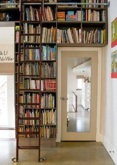 library walls