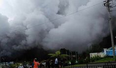 Indonesia volcano leaves two dead and 10 injured after rescue helicopter crashes