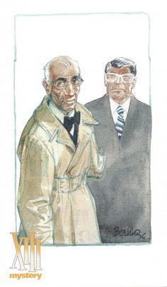 Ex-libris de Boucq pour Colonel Amos, le tome 4 de la série XIII Mystery. #XIII #BDXIII #Dargaud