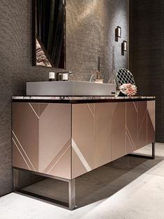 Bathroom Design Luxury, Bathroom Interior, Modern Bathroom, Washroom Vanity, Vanity Decor, Interior Design Institute, Counter Design, Bathroom Design Inspiration, Vanity Design
