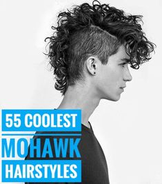 55 Edgy or Sleek Mohawk Hairstyles for M. - Look At Brandi Black Hairstyles Medium Length, Black Hairstyles Sew In, Curly Mohawk Hairstyles, Medium Hair Styles, Short Hair Styles, Sleek Hairstyles, Hair Medium, School Hairstyles, Punk Mohawk