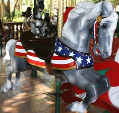 Carousel Horse ... Liberty