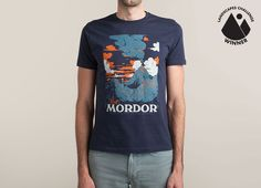 """Visit Mordor"" - Threadless.com - Best t-shirts in the world"