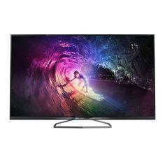 """TV Philips 58PUK6809  Téléviseur LED 4K 3D 58"""" (147cm) 16/9 - 3840 x 2160 pixels - TNT, Câble et Satellite HD - Wi-Fi - DLNA - 400 Hz - 2 paires de lunettes 3D active"""