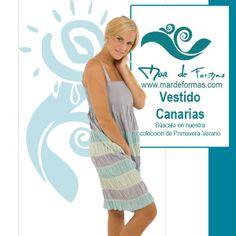 El Vestido Canarias Búscalo en nuestra colección de Primavera-Verano http://www.mardeformas.com/ca/19-vestido-canarias.html