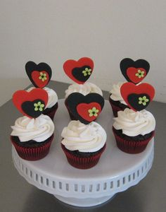 St Valentines Day 2013 — Cupcakes!